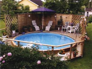 Pool & Pooltillbehör av JF-Fritid