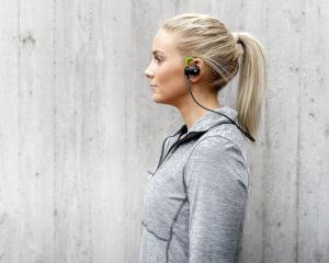 Trådlösa hörlurar för träning