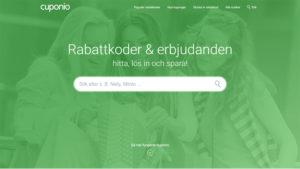 Cuponio.se – Rabattkoder & Erbjudanden